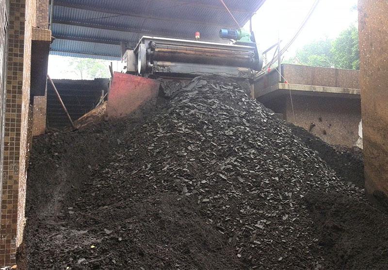 处理印染污泥效果