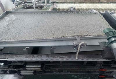 浓缩处理铝氧化加工污泥效果